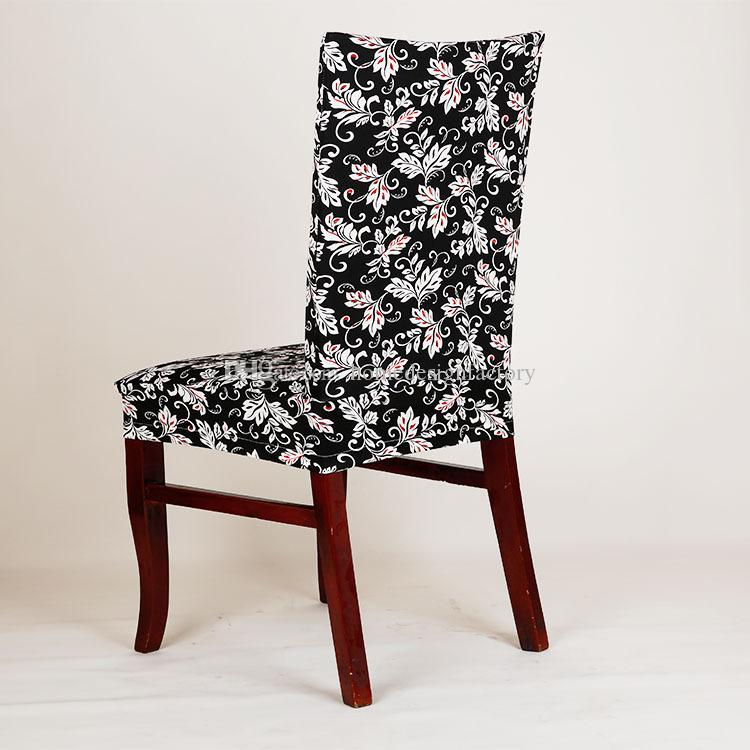 10 Style Dining Chair Cover Spandex Stretch Washable Restaurant Chair Covers Weddings Banquet Folding Hotel Chair Covering