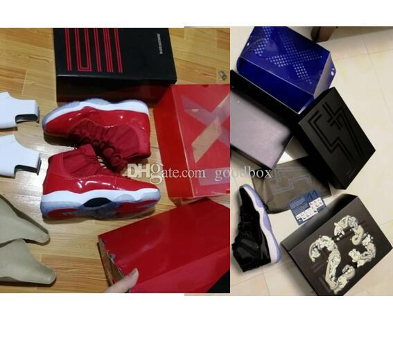 faa9abdd3c655d Wholesale Win Like 96 Ice Blue Space Jam 11 UNC 11s Midnight Navy Blue Gym  Red With Box Basketball Shoes Basketball Shoes Men Sports Shoes Online From  ...