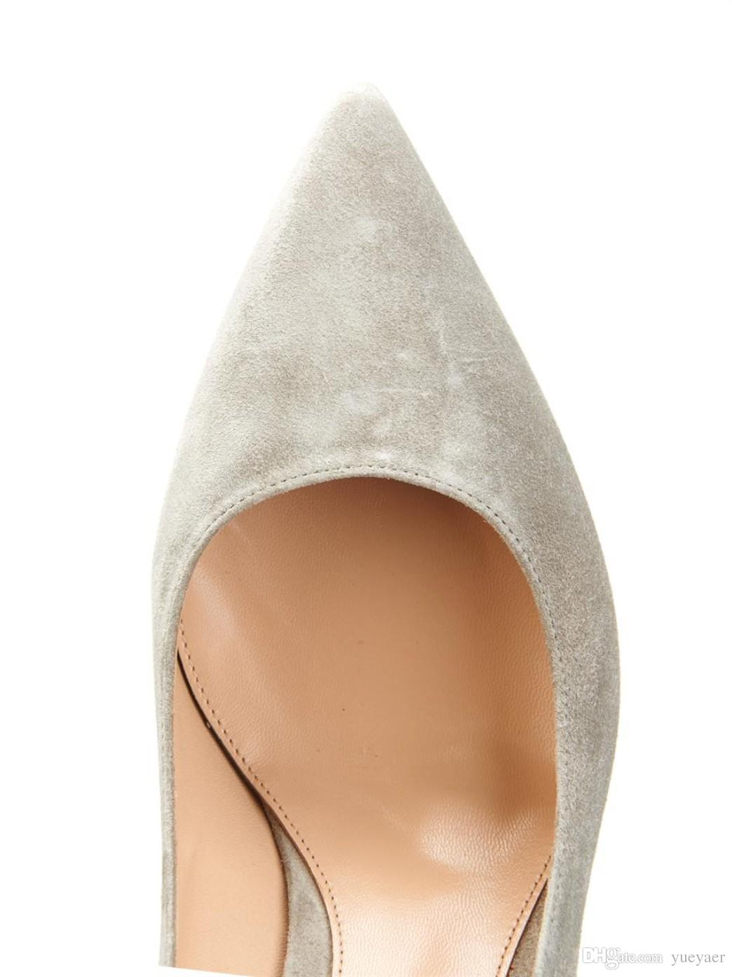 Zandina Handmade Fashion 8cm High Heel Pumps Simple Style Slip-on Pointy Party Evening Wedding Stiletto Shoes Camel
