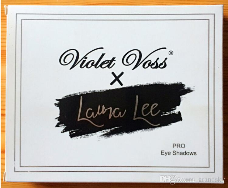 Top Quality Violet Voss x Laura Lee Pro Eye Shadow Palette REFOR eyeshadow hot item DHL free from grandsky