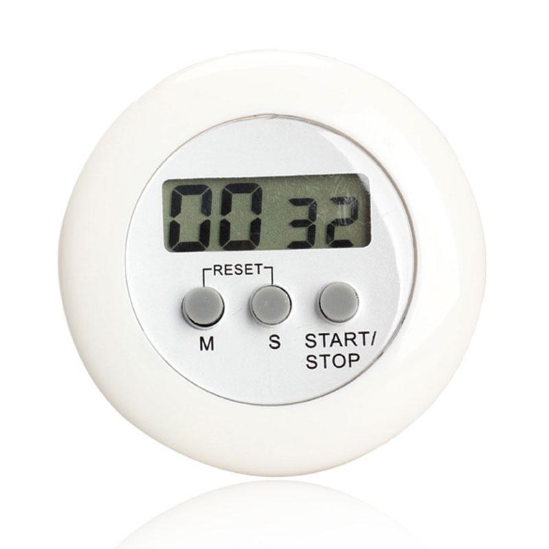 Timer da cucina digitale LCD rotondo con timer da cucina digitale con timer  per cucina Timer da cucina