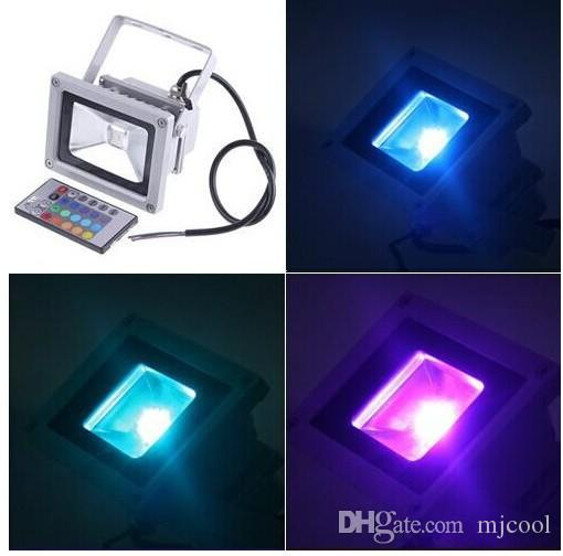 Wodoodporna LED 10W RGB LED Light + Pilot L003