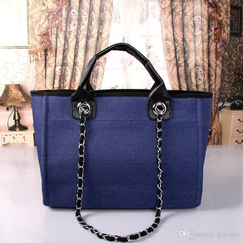 2017 Canvas Tote Bag Luxury Handbags Women Bags Designer Shoulder ...
