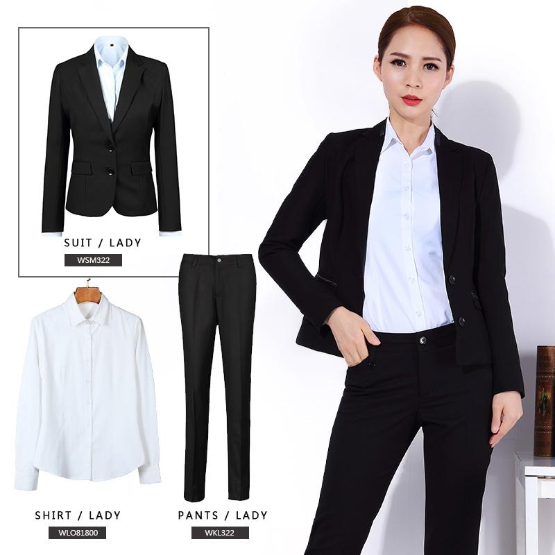 2018 2017 New Spring Women'S Pants And Shirts Fashion Career Set ...