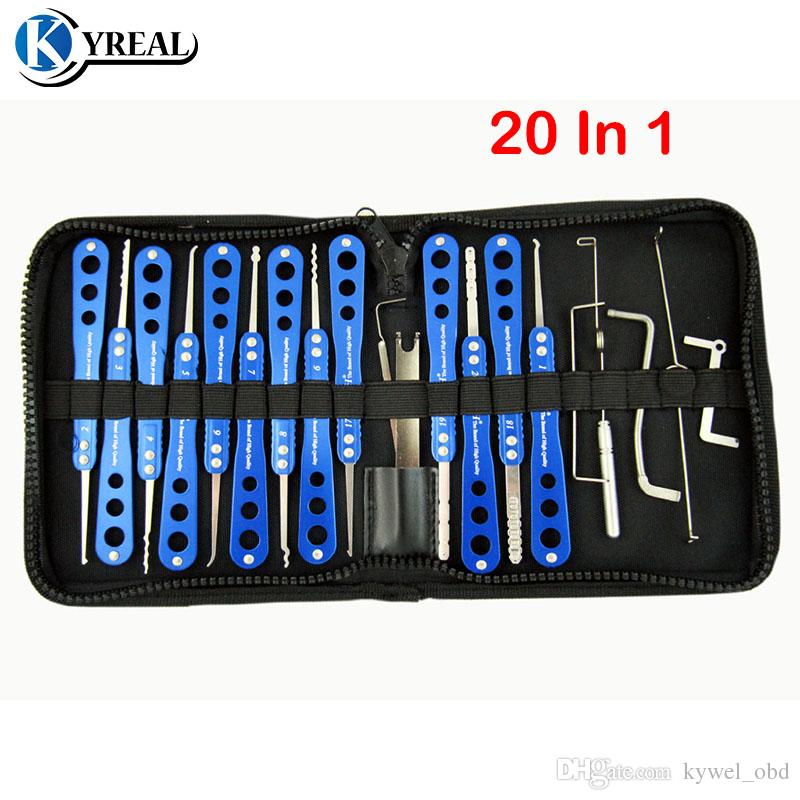 High Quality Champion Series lock Pick Set 20-in-1 For House and Car Lock Door Unlock Tool Locksmith Tools