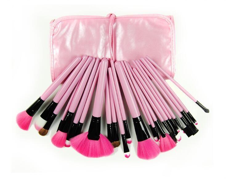 Nouveau professionnel maquillage maquillage ensemble kit de toilette maquillage kit de laine maquille maquillage brosse jeu case libre DHL