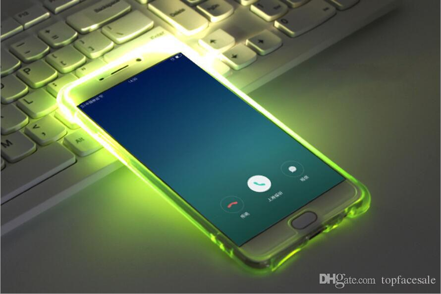 Difier Calling Flash Klares Licht TPU Fall Für Samsung Galaxy J1 J3 J5 J7 2016 Abdeckung Für Samsung Galaxy J5 J7 Prime