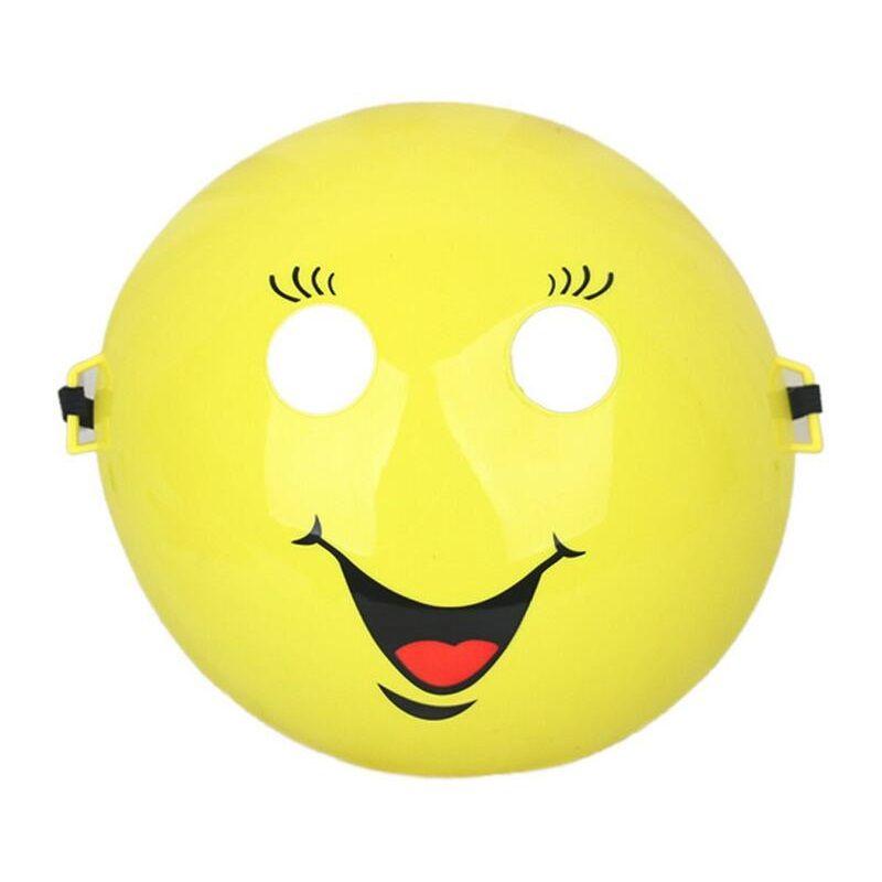 Kreative Emoji Lächeln Maske 3D Kunststoff Cosplay Festival Party Maske Vollgesichts Kostüm Prop Lustige Spielzeug Halloween Liefert ZA3637