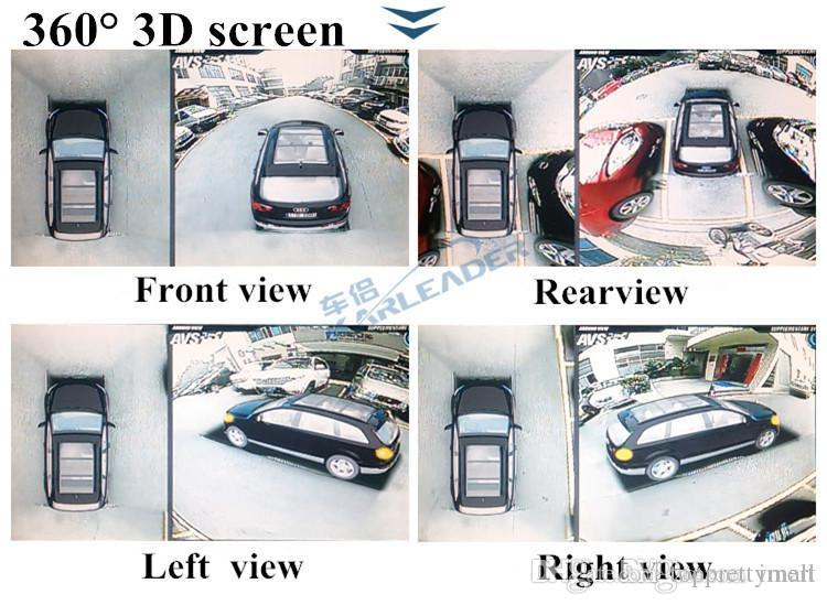 2017 High Definition Car 3d 360 Panoramic BirdS Eye View Of The
