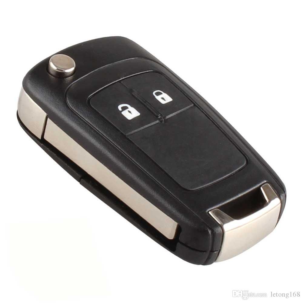 Guaranteed 100% Remote Flip Folding Key Case Shell for Buick Excelle Verano LaCrosse Regal Keyless Entry Fob Car Alarm
