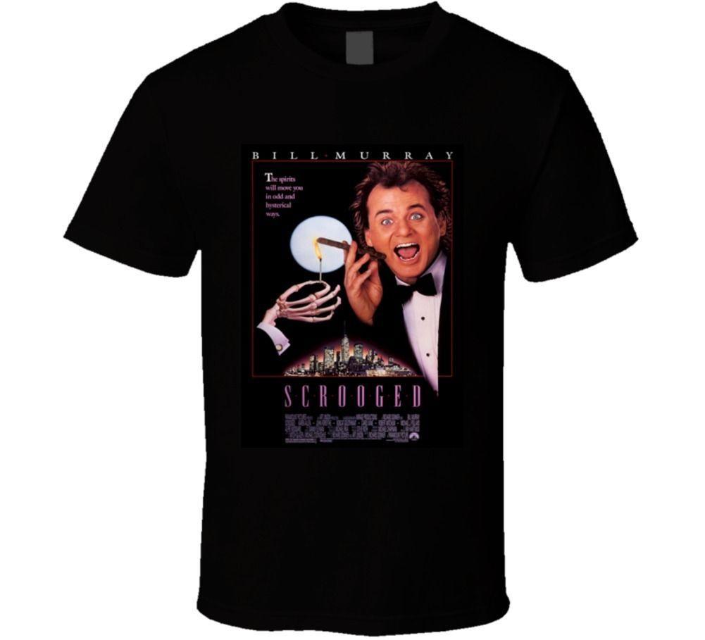 Großhandel Neuheit Cool Tops Männer Kurzarm T Shirt Scrooged 90er ...