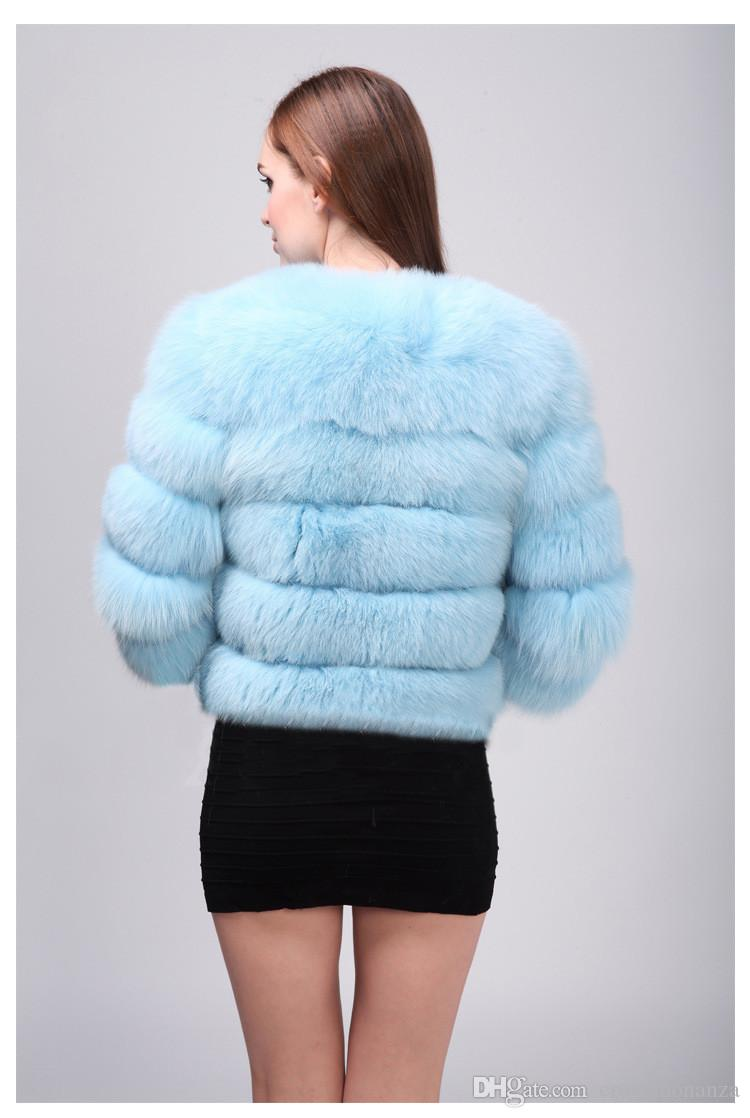 Faux Fur Coat Women Fashion Artificial Fur Jacket Short Style OverCoat Lady Warm Outerwear