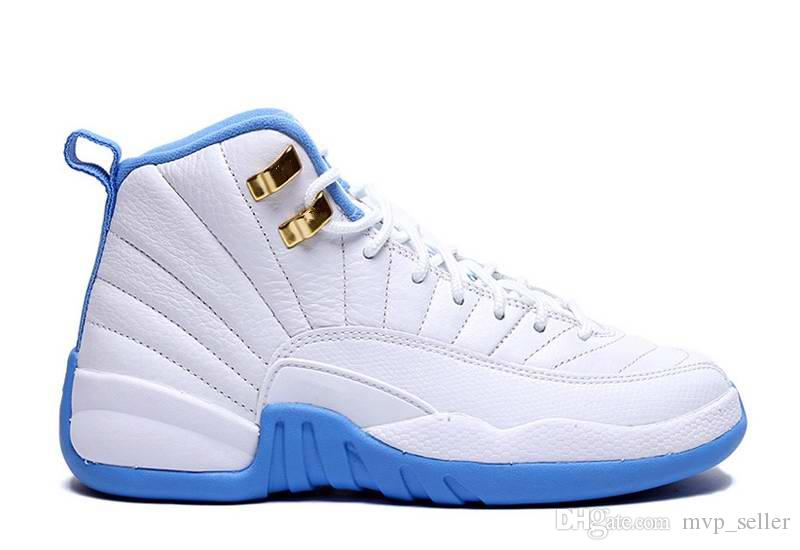 2019 Newest high quality 12 12s XII mens womens Basketball Shoes ovo white GS Barons TAXI Flu Game Playoffs flint grey French Blue Sneakers