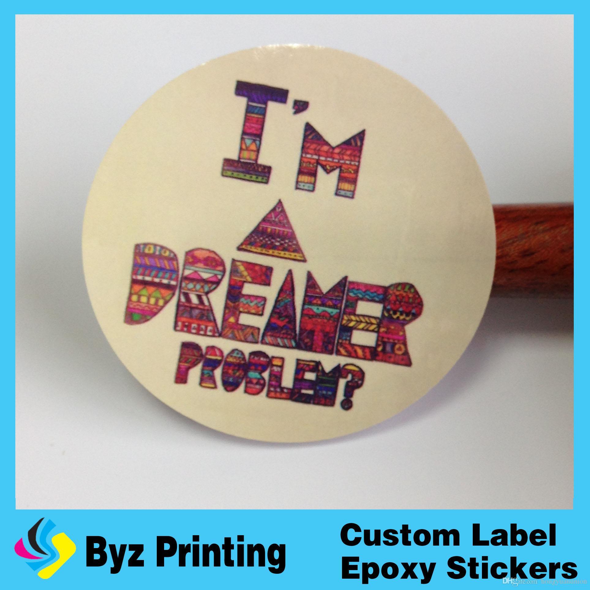 Top Quality Durable Removable Die Cut Vinyl Decal Sticker - Custom vinyl stickers waterproof