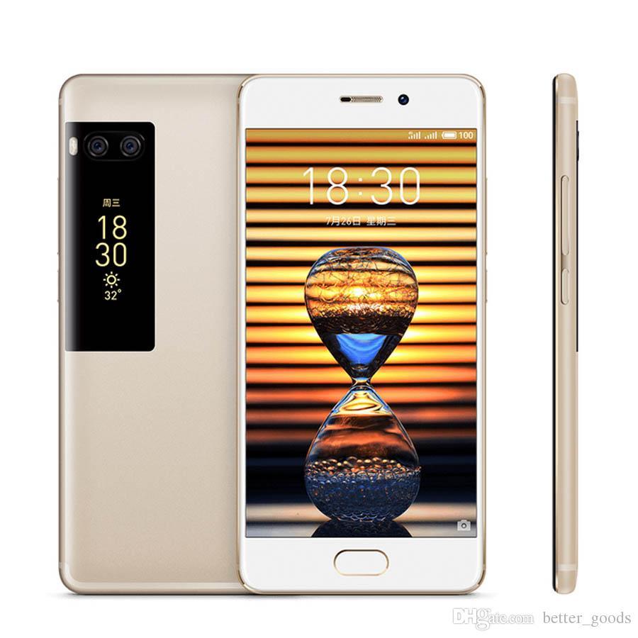 الأصلي MEIZU برو 7 زائد 4G LTE الهاتف المحمول 6GB RAM 64GB / 128GB ROM MTK Helio X30 ديكا كور الروبوت 5.7