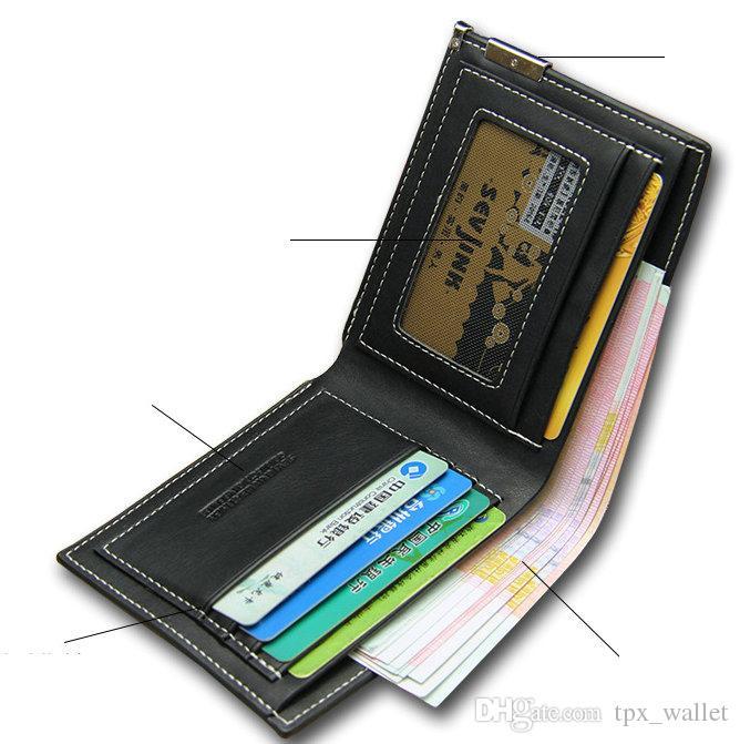 Mei ling zhou wallet Freeze move purse Game short long cash note case Money notecase Leather burse bag Card holders