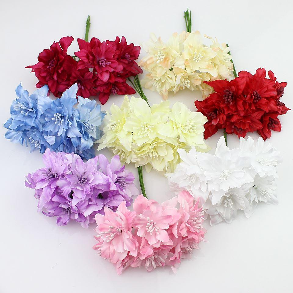 2018 5cm artificial orchid flowers bouquetsilk lily flower for 2018 5cm artificial orchid flowers bouquetsilk lily flower for wedding wreath scrapbooking decoration from linyoutu 529 dhgate izmirmasajfo
