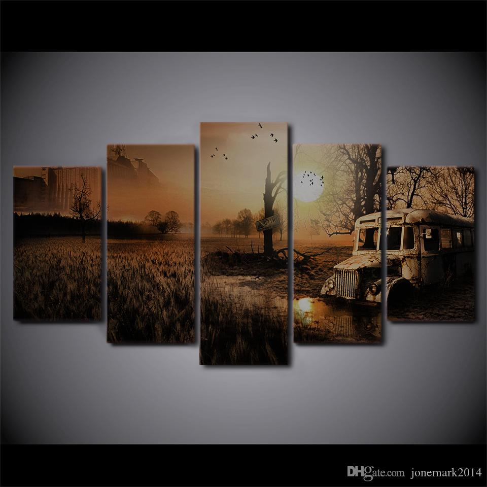 HD Printed Canvas Art Velvet Assassin Painting Wall Pictures for Living Room Frames Game Poster