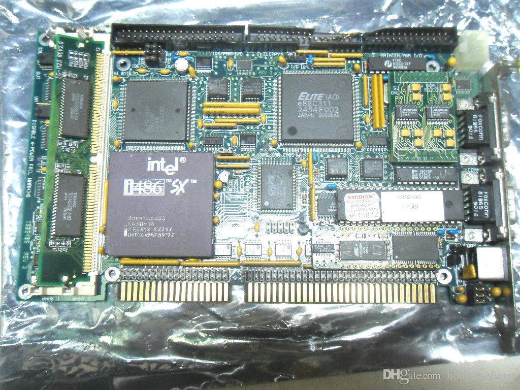 Оригинальная промышленная материнская плата 486 EMBEDTEC ISBS486 ISA-BOARD 100% проверена, работает, используется, в хорошем состоянии