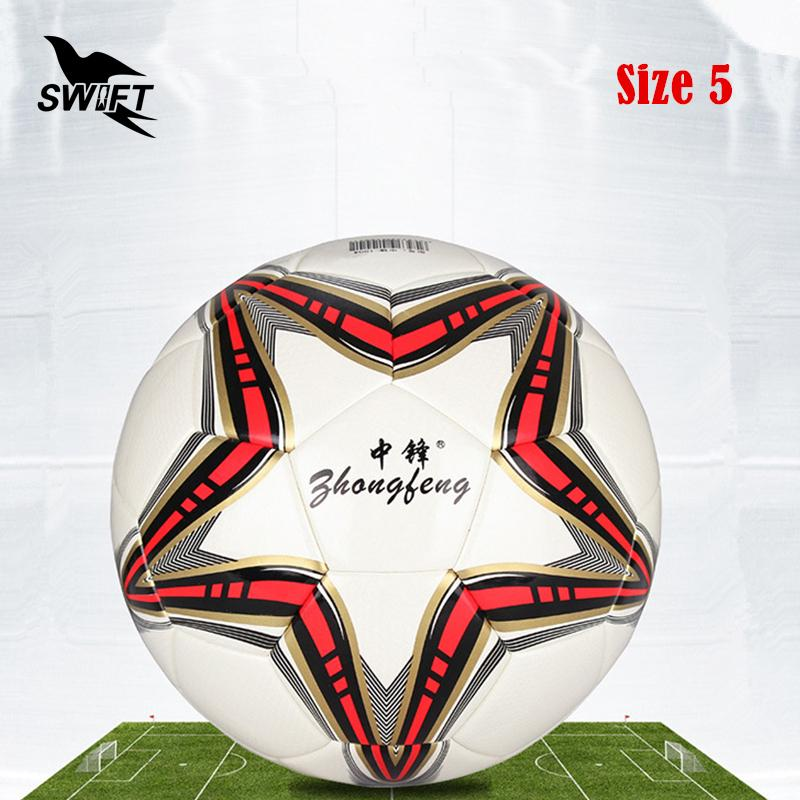2019 Original Brand Professional Size 5Euro Football Ball 2016 Pu Leather Official Soccer Cheap Foot Training Goal From Jersey168