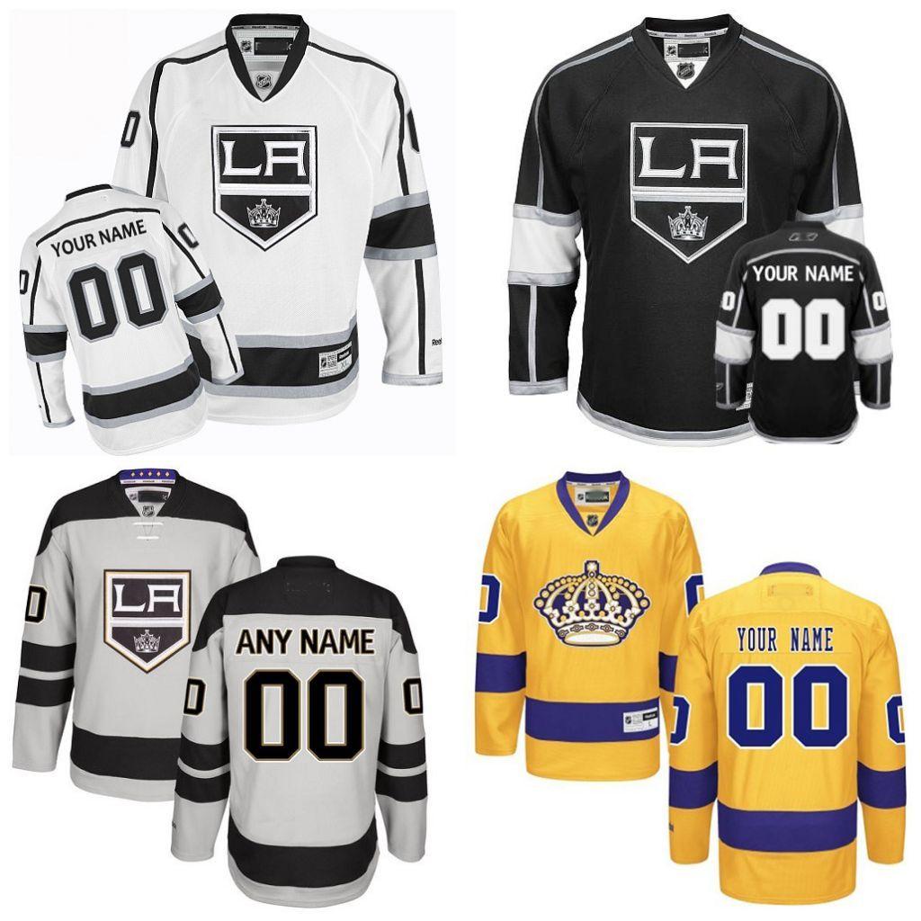 2019 Cheap Hockey Jerseys Los Angeles Kings Custom Los Angeles Kings