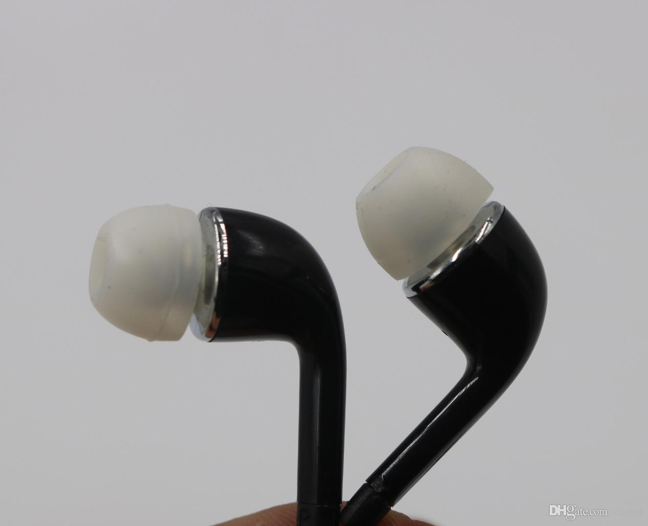 Note4 Note3 Samsung Galaxy s3 s4 s5 s6 kenarı için 3.5mm Kulak İçi Kulaklıklar Kulaklık Kulaklık