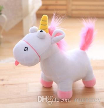2019 2017 Unicorn Short Stuffed Plush Animal Toys 35cm Small Goat
