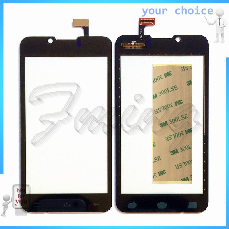Wholesale- Mobile Phone Panel Touchscreen For Fly iq441 Digitizer Front Glass Replacement Touch Screen Sensor with Tracking Number+tape