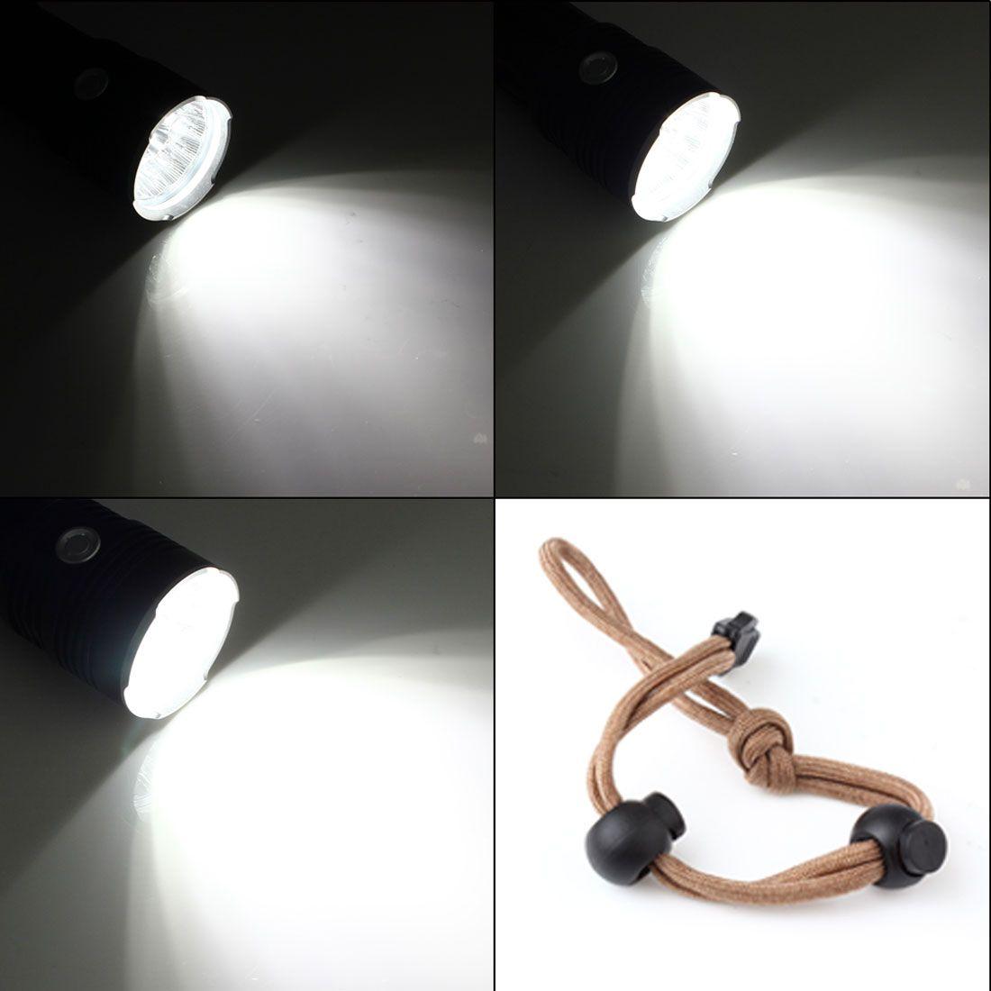 SKYRAY 12x XML-T6 Waterproof LED Torch Super Bright Backpacking Hunting Fishing Flashlight Torch Flash Lamp LEF_00I