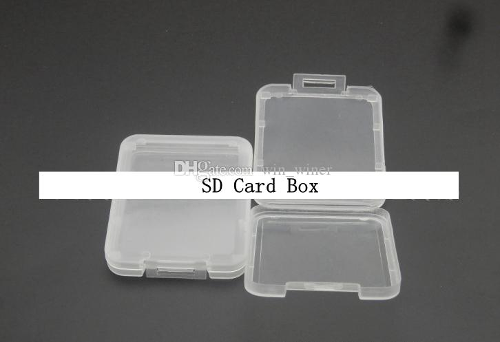 CF TF XD SD Card Plastic Case box retail package packaging new arrival with good quality