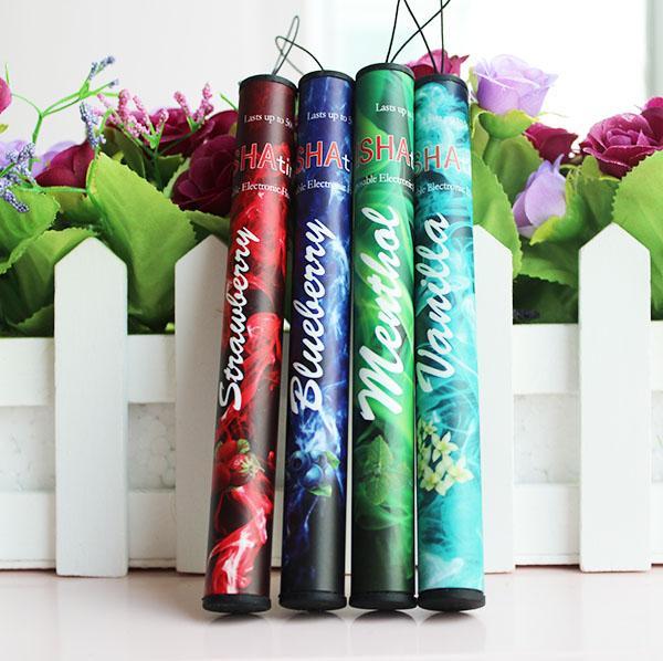 Shisha pen Eshisha Disposable Electronic cigarettes shisha time E cigs 500 puffs 30 type Various Fruit Flavors Hookah pen