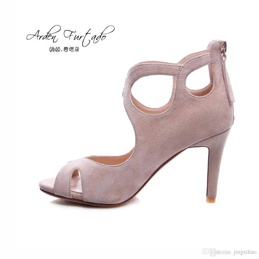 plus la taille des femmes 2017 nouvelle boucle de talon à bout ouvert de la mode chaussures sandales sexy,noir,8