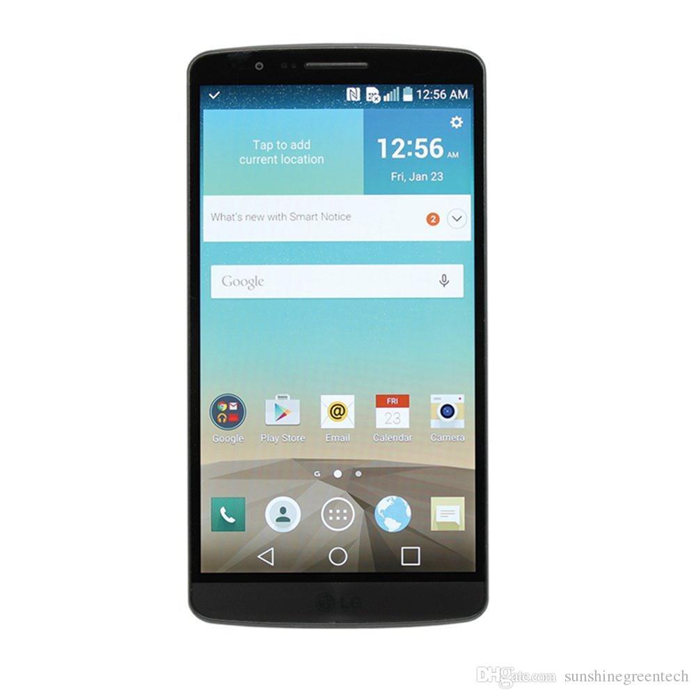 Telefoni ricondizionati LG G3 D850 D851 D855 versione EU Telefono sbloccato 5,5 pollici 3 GB di RAM 32 GB ROM 16MP Cell Phone