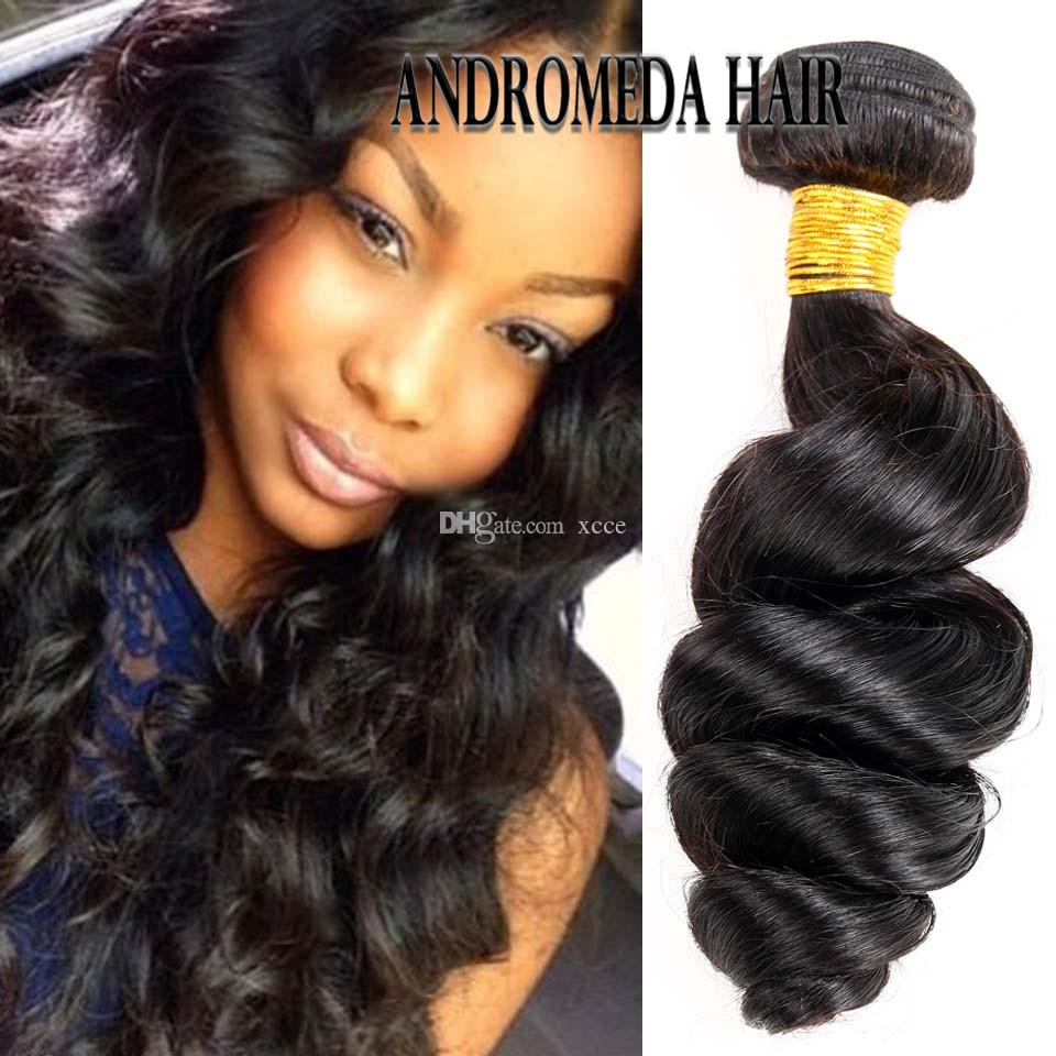 Peruvian Indian Loose Wave Human Hair A Soft Peruvian Indain Human