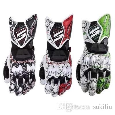 CINQUE guanti tribali RFX1 MOTO GP guanti da moto protettivi nubi propizia corsa guanti in pelle i spedizione gratuita