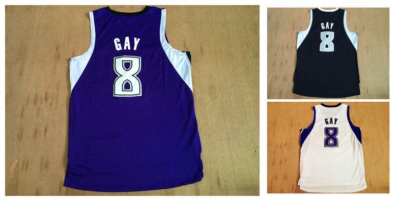 e6a08f131 ... NBA Sacramento Kings 8 Rudy Gay New Revolution 30 Swingman Blue Jersey  2017 2017 Cheap Hot Sale 8 Rudy Gay Mens Jerseys Top Quality Size S Xxl  Mens ...