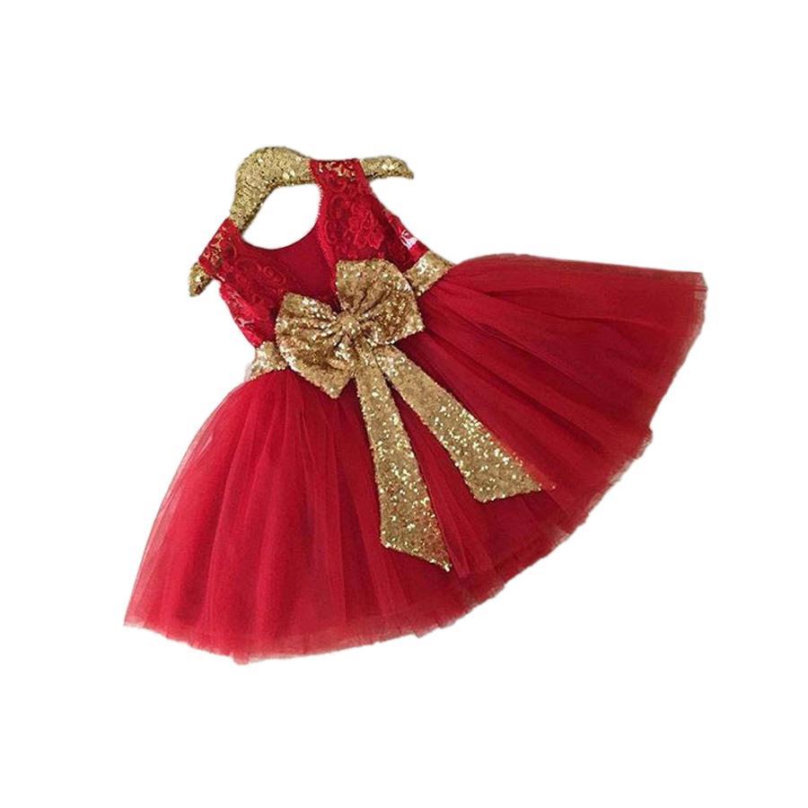 1832b03c25c88 Acheter Mignon Bébé Fille Tutu Robe Mode Noeud Papillon Princesse Mini Robe  Pour 1 6 Années Filles Enfants Enfants Princesse Robe Vêtements D été De   13.83 ...