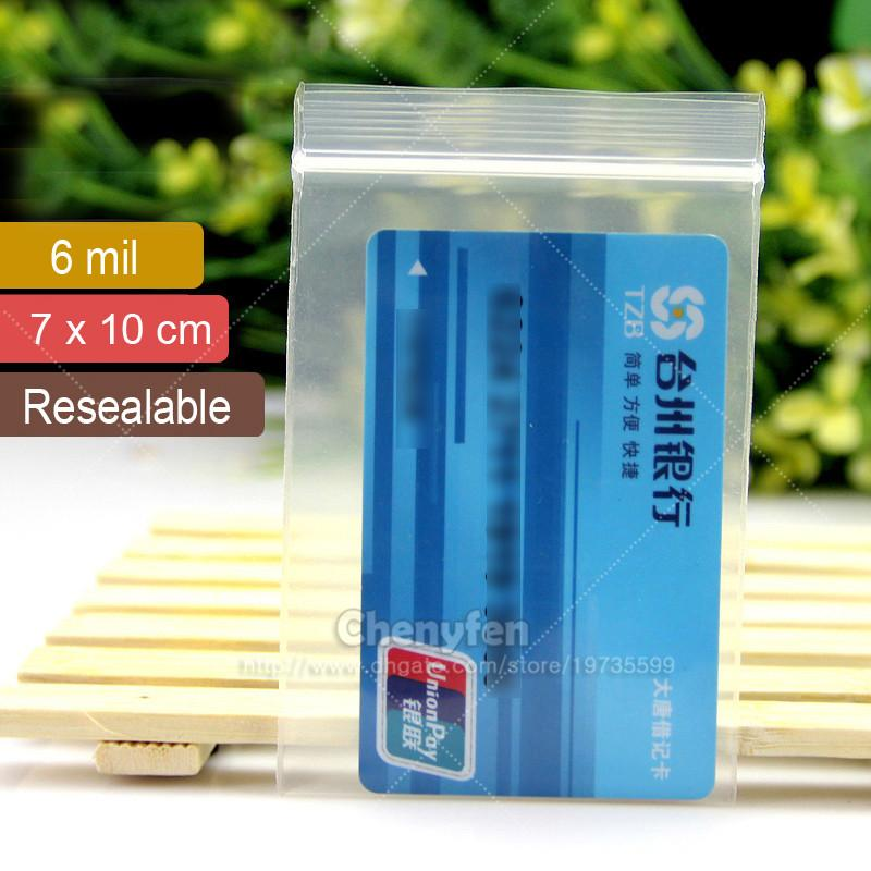 clear ziplock bag 7x10cm thick zip seal thick 6mil 28x4 reclosable bag earrings sealed poly packaging bag 316c1p from chenyfen 198 dhgatecom