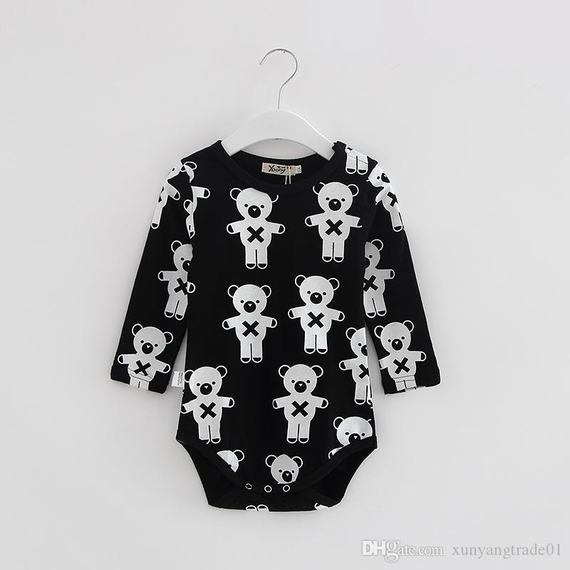 0c5b87dbf31c Baby Romper Jumpsuit Bodysuits New Baby Clothes INS Newborn Infant ...