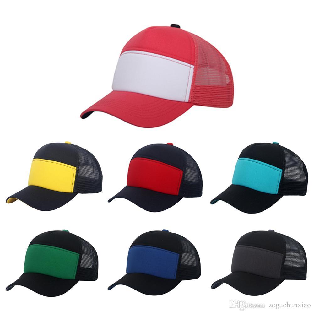 9d1504fdd52 Cheap Plain Trucker Hat Casual Snapbacks Blank Baseball Hats Visor Cap Hip  Hop for Unisex Women Men Sports Travel Hat Cap Visor Cap Blank Trucker Hats  ...