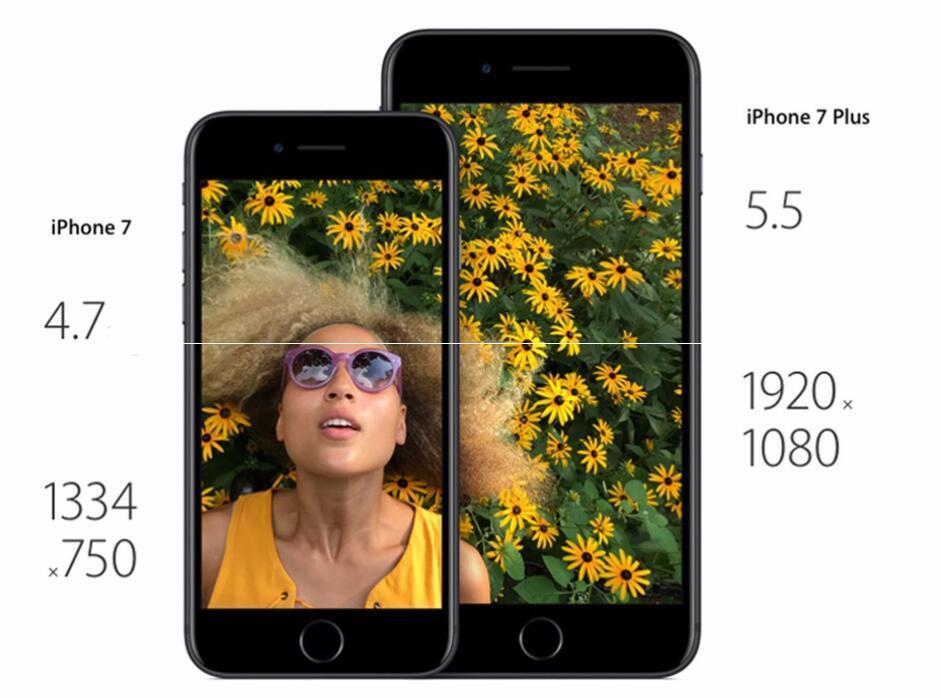 Téléphone d'origine pour iPhone 7 7 Plus avec empreinte digitale 32 Go / 128 Go IOS10 Quad Core 12.0MP remis à neuf