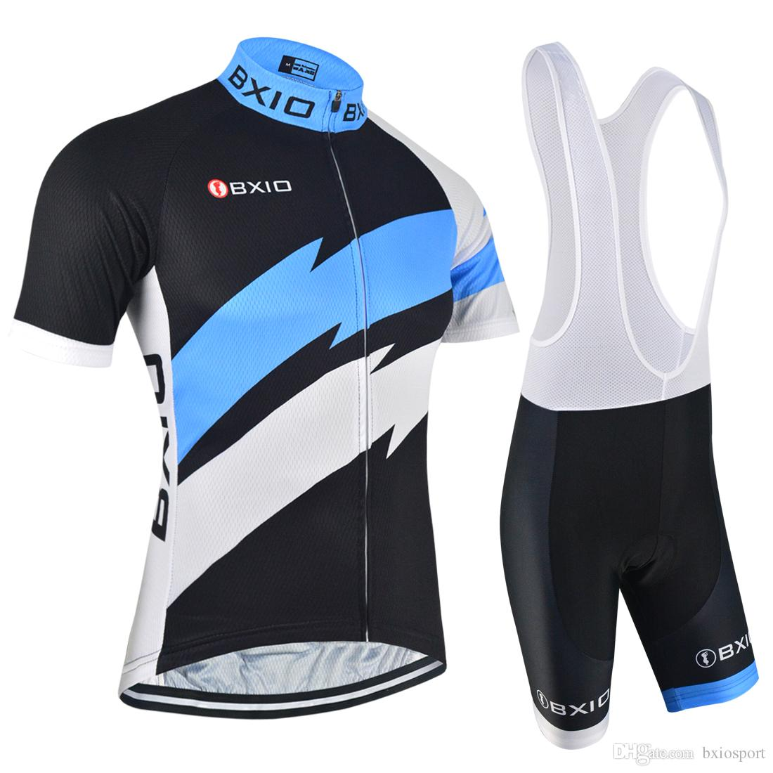 bc1a50018 2017 Men Cycling Jerseys Sets BXIO Brand New Arrival Bikes Clothes Fashion  Summer Short Sleeve Cycle Clothing Ropa Ciclismo BX-146 Cycling Jerseys Sets  ...