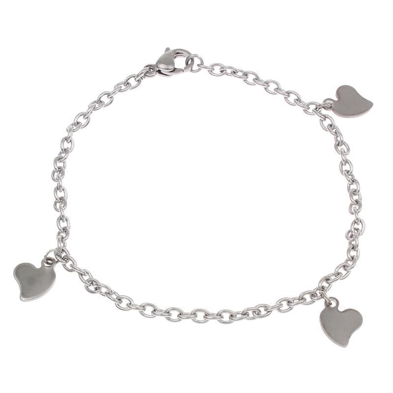 Wholesale Gift Wholesale Simple Bracelets Women Heart Bracelet ...