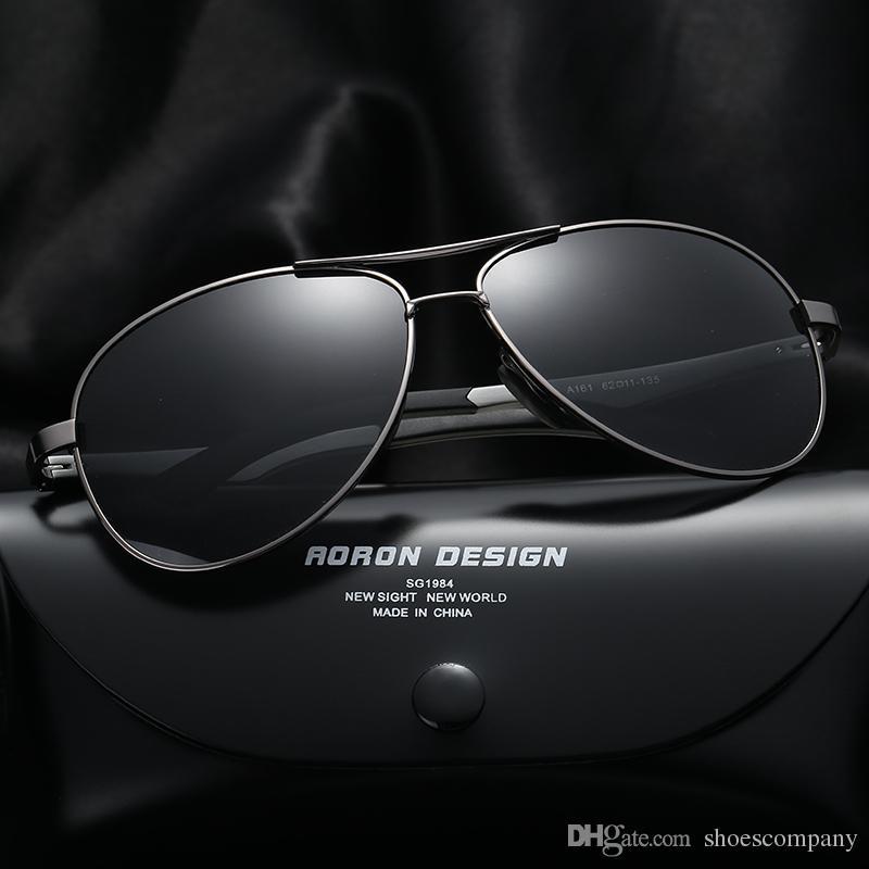 5a991ebee8 Compre Gafas De Sol De Lente Polarizadas De Aluminio Magnesiu Para Hombres  Y Mujeres Diseñador Uv400 Gafas De Mujer De Gafas De Sol Vintage Sport  Vintage ...