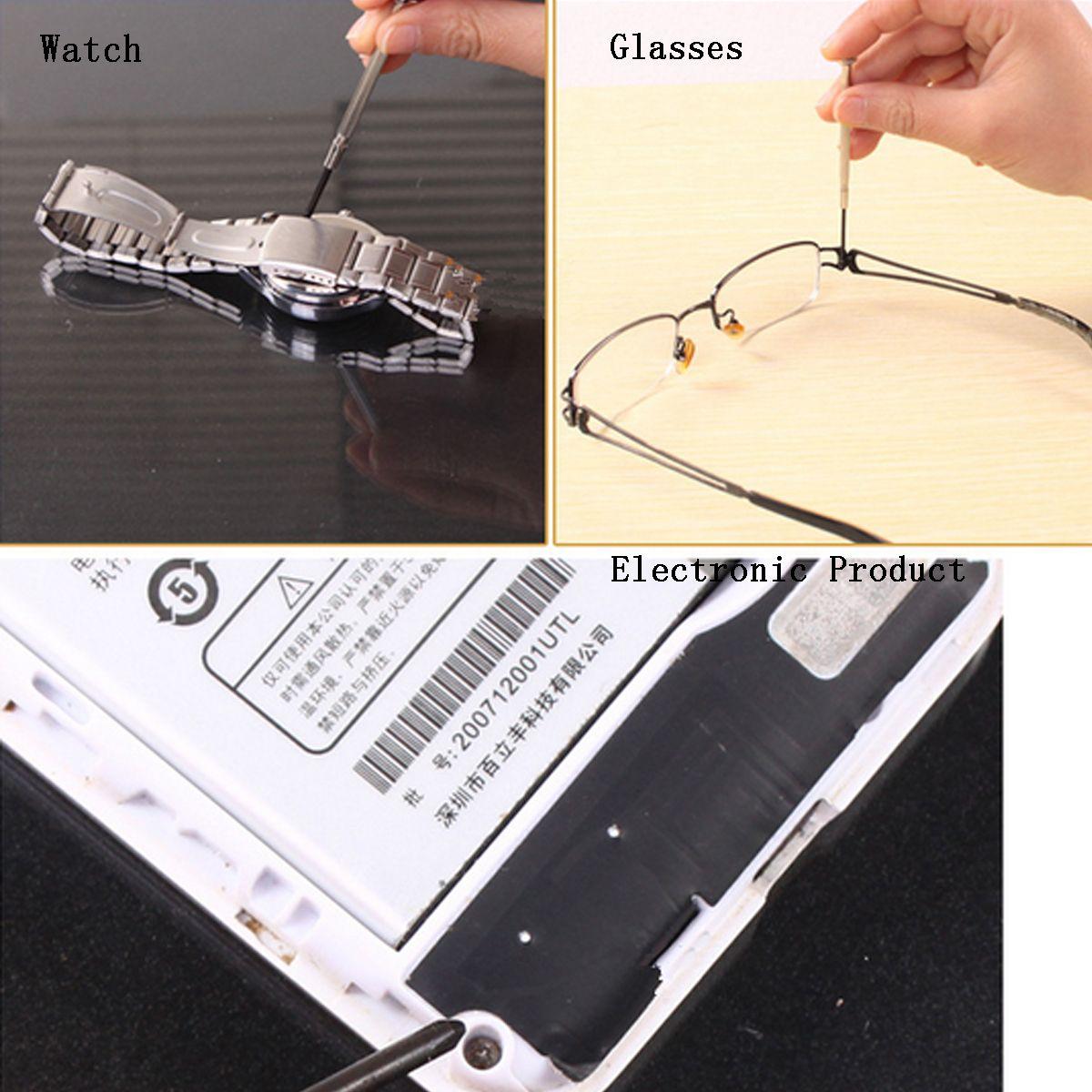 Precision Mini Hex Screwdriver Set Electronic Micro Hobby Jeweler Watch Repair Tool