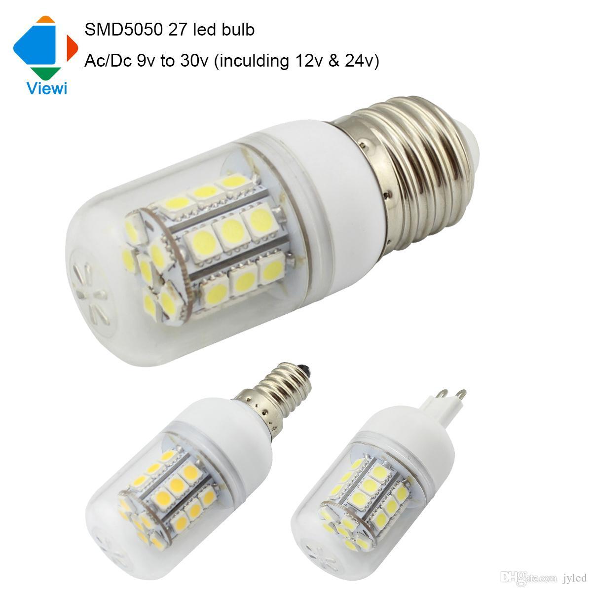 Lamparas Led Bulb Ac/Dc 12v 24v E27 E14 G9 Corn Bulbs 12 To 24 Volt ...