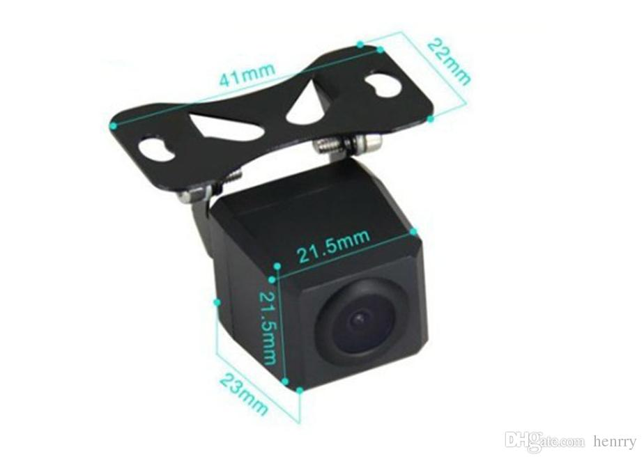 HD Waterproof Rearview Car Camera PZ407 1/4 CMOS DC 12V IP67 Diameter Of Shell 18MM 170 Degree 600TVL POST
