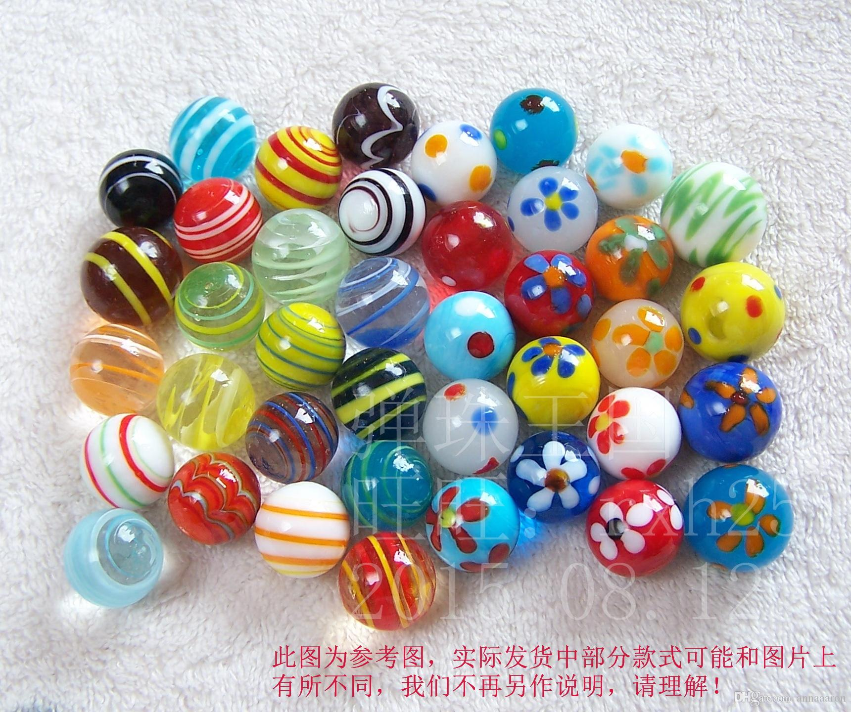 16mm Glass Marbles Jump Chess Pieces Vase Aquarium