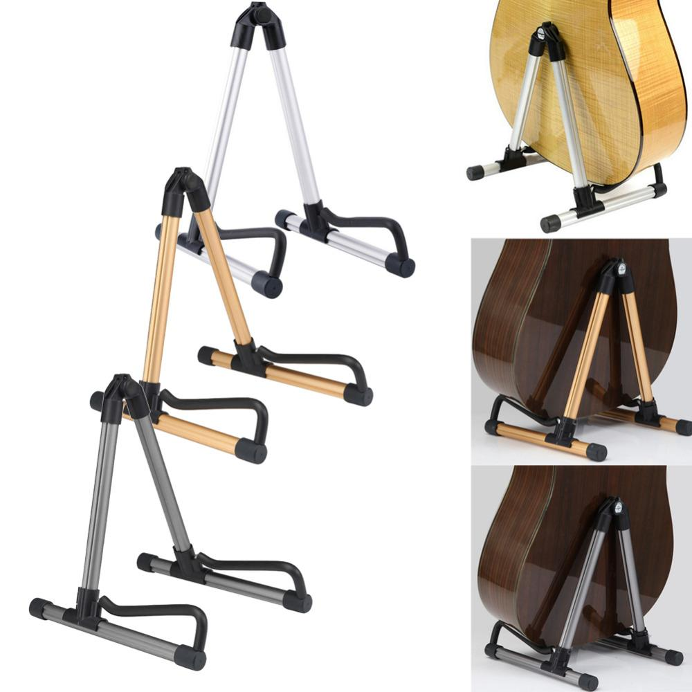 Guitar Stand Universal Folding Electric Acoustic Bass Guitar Stand A ...