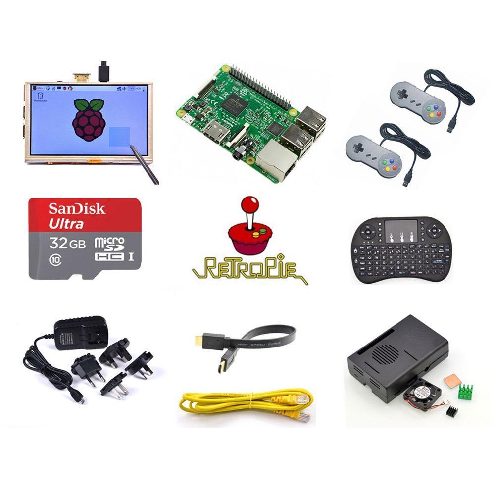 Grohandel Raspberry Pi Modell B Retropi 3 Spielkonsole Kit Erste Paket Model Generation Pie Retro Von Dinnazhen 1206 Auf Dhgate